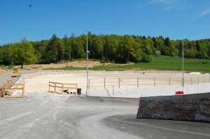 Največje jahališče v Sloveniji z 12.000 m2 jahalne površine je narejeno z EquiSand® mivko iz Termit-a.